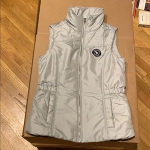 Abercrombie Kids pink and grey vest